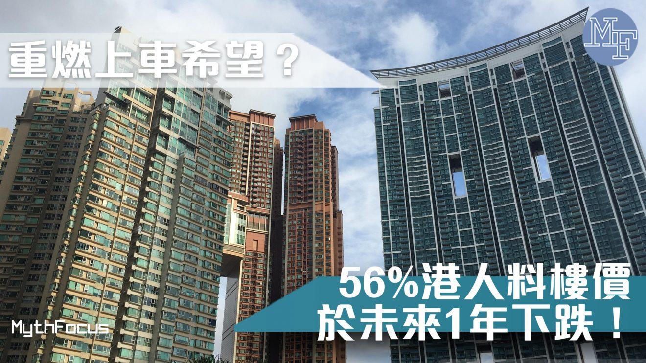 【市場降溫?】56%港人料樓價於未來1年下跌  到底買樓不買樓?