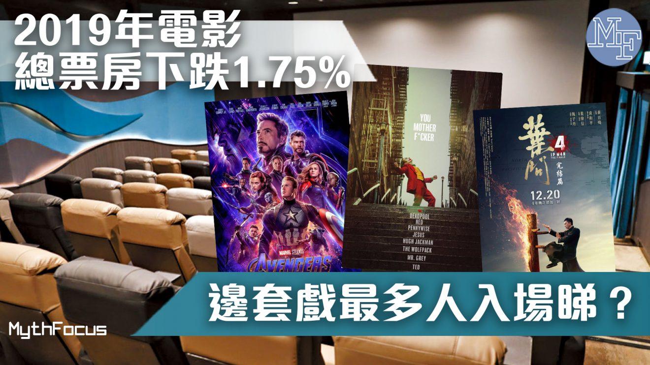【市道差?】2019年香港電影總票房下跌1.75%  哪套電影是票房之冠?