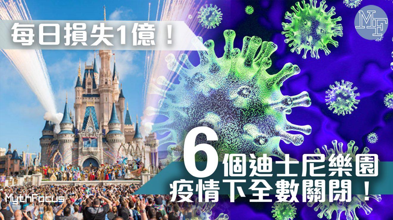 【武漢肺炎】首次全球6個迪士尼樂園同時關閉!營收會受到幾大衝擊?